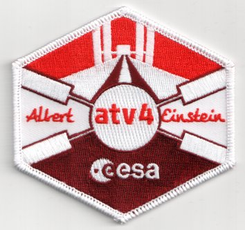 ESA ATV-4 Automated Transfer Vehicle Official Embroidered ...