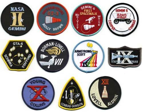 gemini space mission badges - photo #6