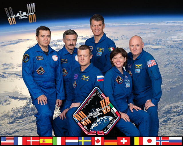 International Space Station Expedition 26 Official Crew ...