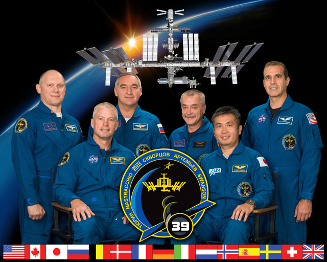 astronaut crews of the international space station role - photo #6