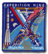 International Space Station Expedition 9 Patch