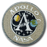 "NASA Apollo Program Patch 3"" Version"