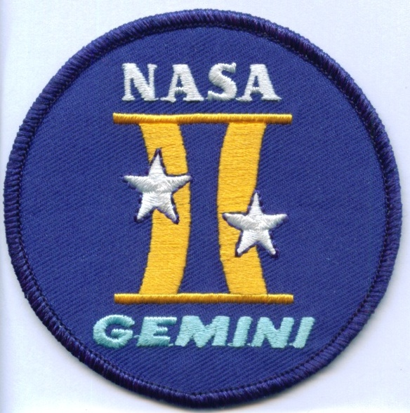 NASA Gemini Program Patch 3 2