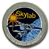 NASA Skylab Program Embroidered Patch 4""