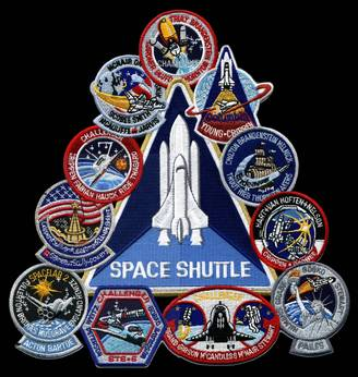 space shuttle challenger logo - photo #13