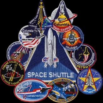 space shuttle mission logos - photo #16