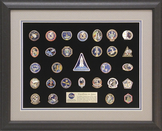 space shuttle mission pin set - photo #3