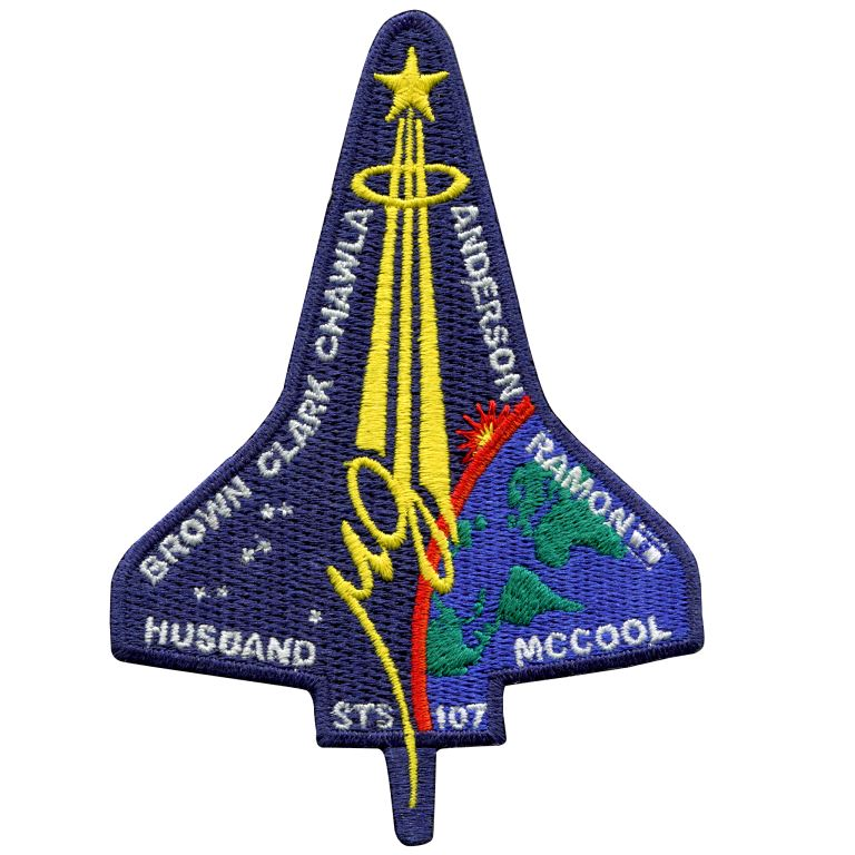 space shuttle columbia mission patch -#main