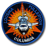 space shuttle columbia mission patch - photo #28