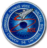 NASA STS-94 Columbia Mission Patch