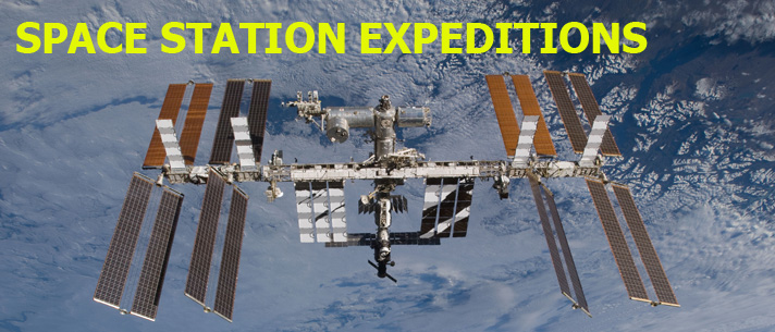 Space Station Expeditions Patch Collection