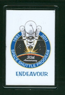 30 Years of the Space Shuttle Program 1981-2011 Endeavour Fridge Magnet