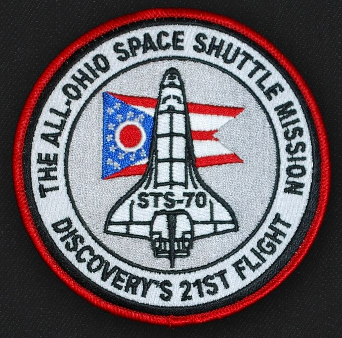 All-Ohio Space Shuttle Mission Patch - Astronaut Don ...