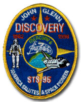 Astronaut John Glenn Commemorative Patch
