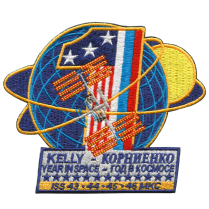 Commemorative 1 Year Expedition Mission Patch
