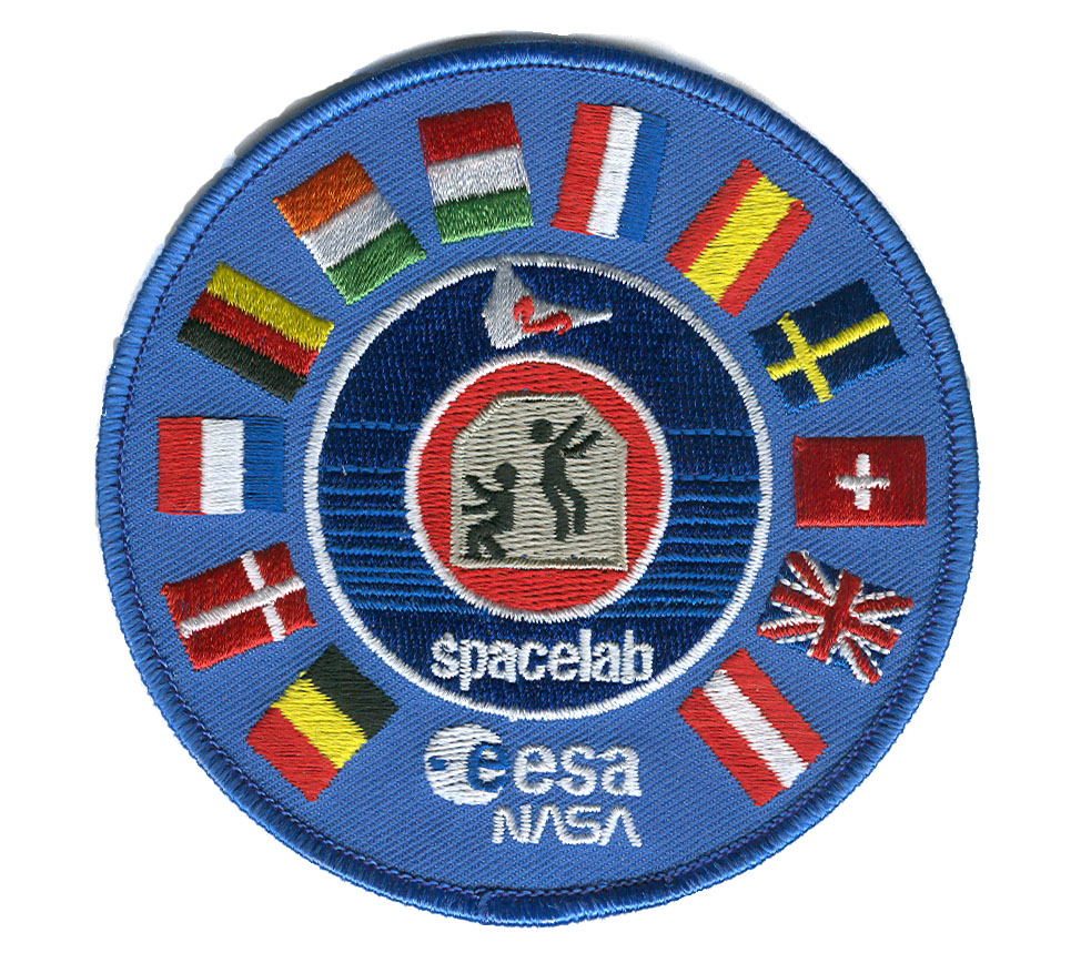 Esa Nasa Spacelab Program Embroidered Patch