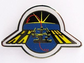 Expedition 24 ISS International Space Station Mission Lapel Pin Official NASA
