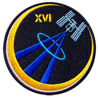 International Space Station Expedition 16 Patch