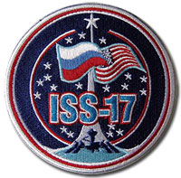 International Space Station Expedition 17 Patch (No names)