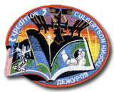 International Space Station Expedition 3 Patch
