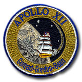 "NASA Apollo 12 Patch 4"" Embroidered Mission Patch"