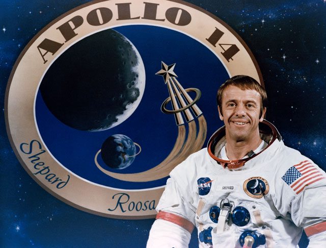 Image result for alan shepard apollo 14