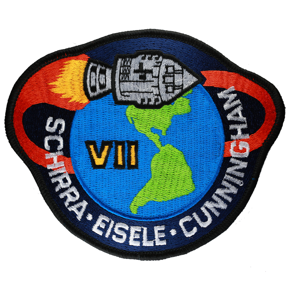 NASA Apollo 7 Patch 4 Embroidered Mission Patch