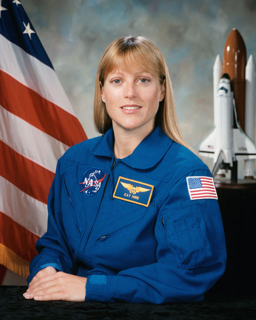 NASA Astronaut Kathryn P. Kay Hire 8x10 Full Colour Portrait