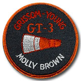 NASA Gemini 3 Mission Patch 3""