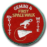 NASA Gemini 4 Mission Patch 3""