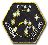 NASA Gemini 6 Mission Patch 3""