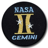 NASA Gemini Program Patch 3""