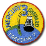 NASA Mercury 3 Embroidered Patch.