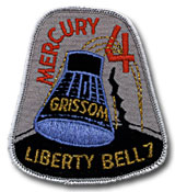 NASA Mercury 4 Embroidered Patch.