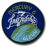 "NASA Mercury 6 Patch 3"" Version"