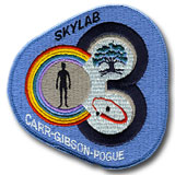 "NASA Skylab 3 (SL-4) Embroidered 4"" Mission Patch"