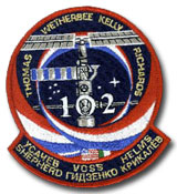 NASA STS-102 Discovery Mission Patch