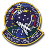 NASA STS-108 Endeavour Mission Patch