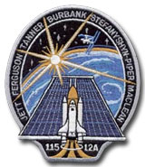 NASA STS-115 Atlantis Mission Patch