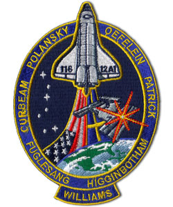 Animation assemblage ISS Nasa-sts-116-discovery-mission-patch-1191-p