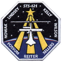 NASA STS-121 Discovery Mission Patch