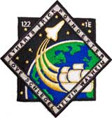 NASA STS-122 Atlantis Mission Patch