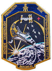NASA STS-126 Endeavour Mission Patch