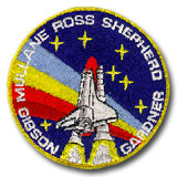 NASA STS-27 Atlantis Embroidered Space Shuttle Mission Patch