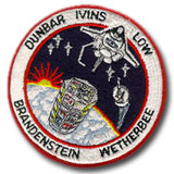 NASA STS-32 Columbia Embroidered Space Shuttle Mission Patch