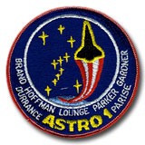 NASA STS-35 Columbia Embroidered Space Shuttle Mission Patch