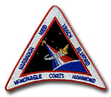 NASA STS-39 Discovery Embroidered Space Shuttle Mission Patch