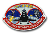 NASA STS-41B Challenger Embroidered Space Shuttle Mission Patch