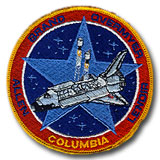 NASA STS-5 Columbia Embroidered Space Shuttle Mission Patch