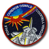 NASA STS-56 Discovery Mission Patch